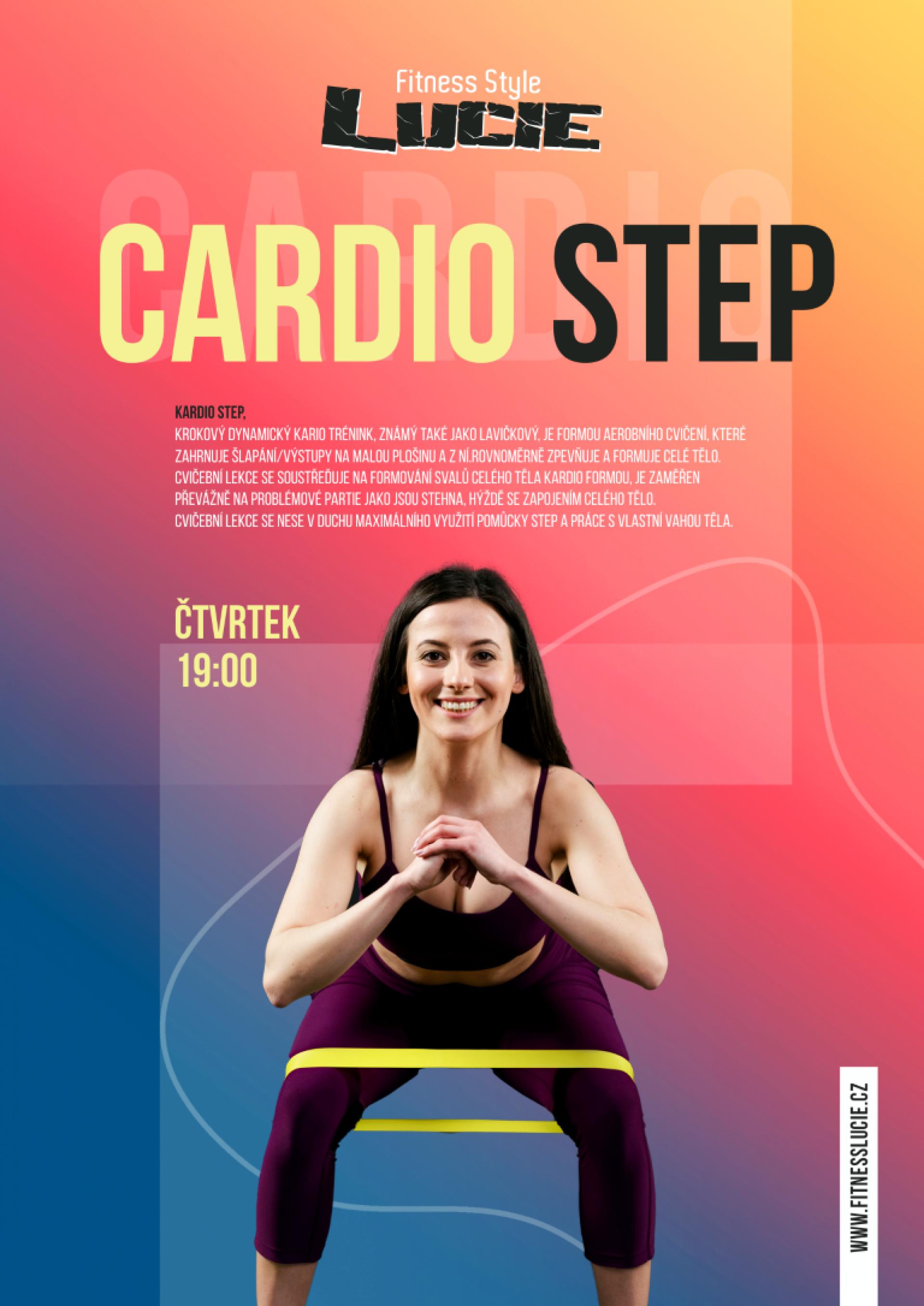 Cardio step - čtvrtek 19:00
